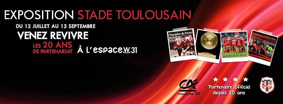 Exposition Stade Toulousain