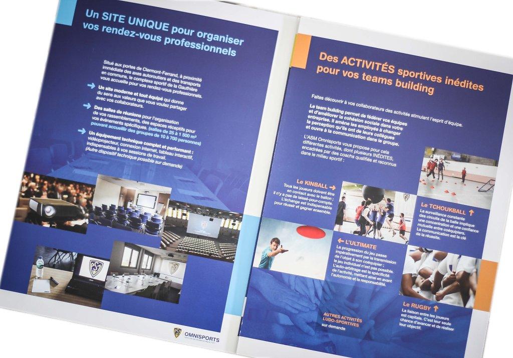 Brochure ASM Omnisports