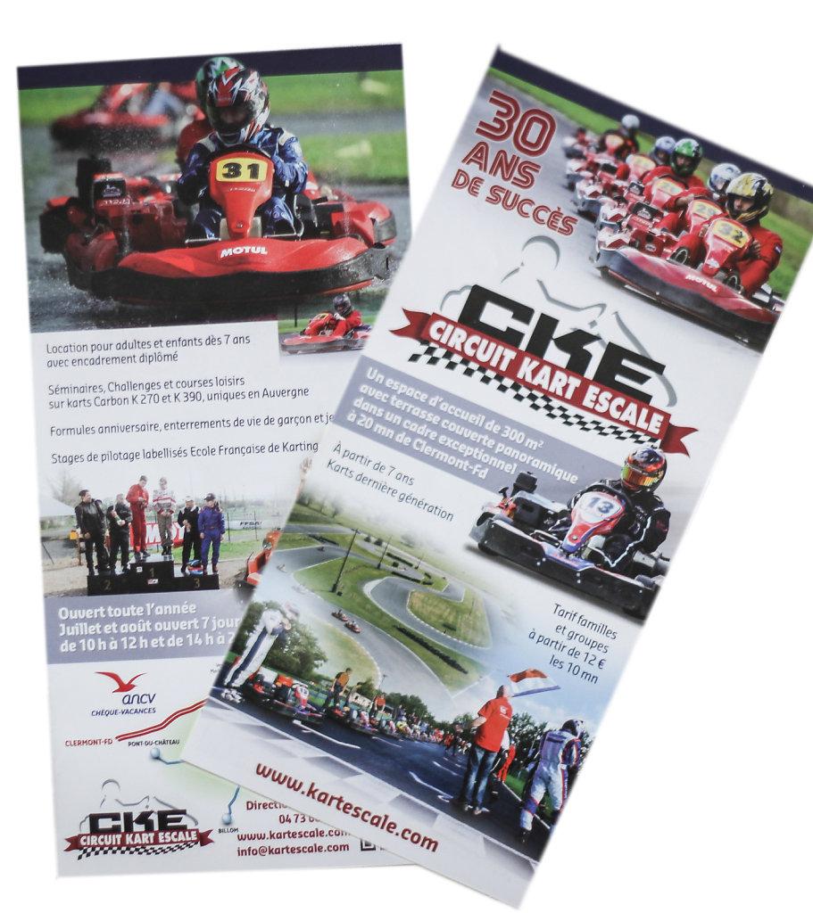 Brochures Kart Escale